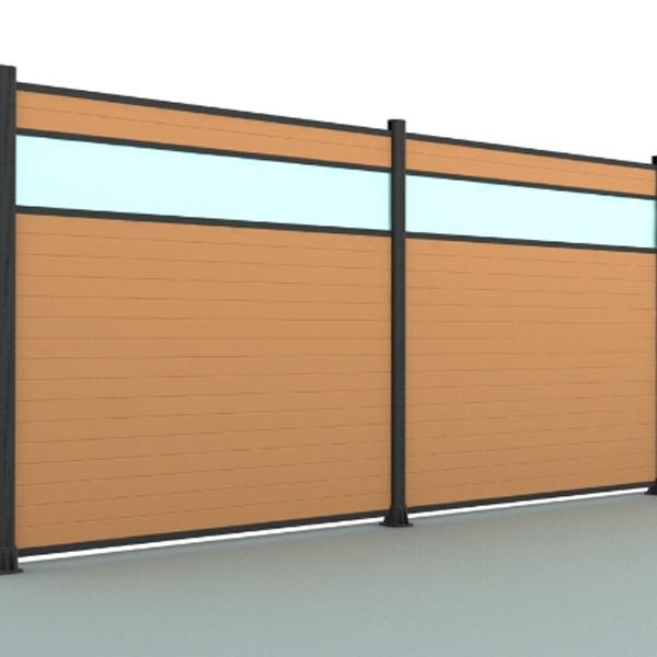 lame decorative clôture