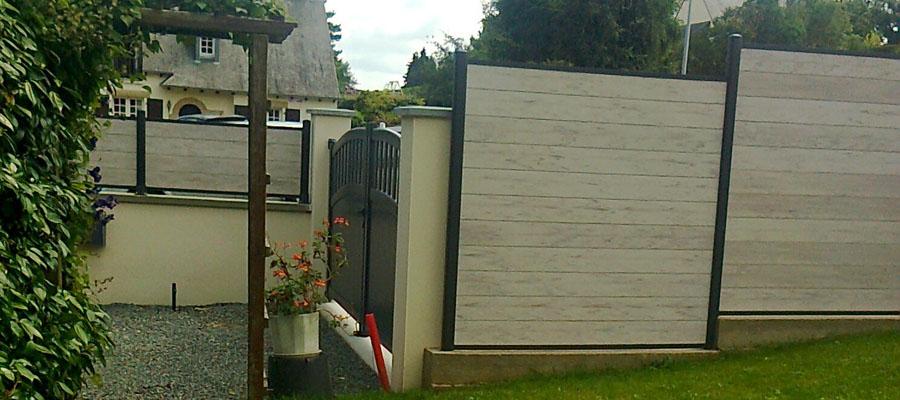Espace nature sibue paysagiste haute savoie 74 ma onnerie paysag re for Cloture de jardin haute savoie